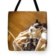 Intravenous Drip Cat Tote Bag