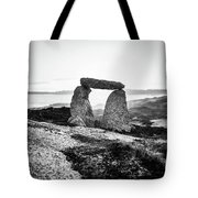 Inukshuk At Sunset, Terence Bay, Nova Scotia Tote Bag