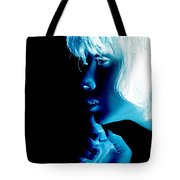 Inverted Realities - Blue  Tote Bag