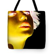 Inverted Realities - Yellow  Tote Bag