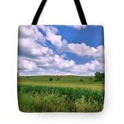 Iowa Cornfield Tote Bag