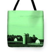 Iowa Farm Panorama Tote Bag