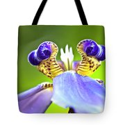 Iris Flower Tote Bag by Heiko Koehrer-Wagner