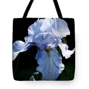 Iris Photograph Tote Bag