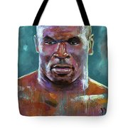Iron Mike Tote Bag by Robert Phelps