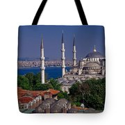 Istanbul's Blue Mosque Tote Bag