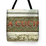 Italian Cooking Tote Bag
