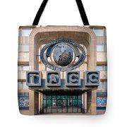 Itar-tass Press Agency  Tote Bag