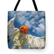 Jack-o-lantern Man Tote Bag