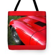 Jaguar E-type Tote Bag