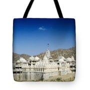 Jain Temple Of Ranakpur Tote Bag