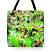 Jamaican Croton Tote Bag
