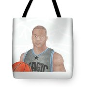 Jameer Nelson Tote Bag by Toni Jaso
