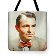 James Mason, Vintage Movie Star Tote Bag