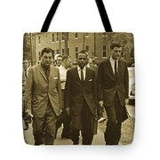 James Meridith And Ole Miss Integration 1962 Tote Bag