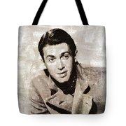 James Stewart Hollywood Actor Tote Bag