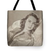 Janet Leigh, Vintage Actress Tote Bag