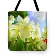 Jasmine Fly-by Tote Bag