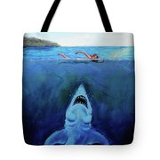 Jaws  Revisited Tote Bag
