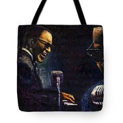 Jazz Ray Charles Tote Bag