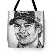Jeff Gordon In 2010 Tote Bag by J McCombie