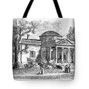 Jefferson: Monticello Tote Bag by Granger