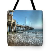 Jennettes Pier Nags Head North Carolina Tote Bag