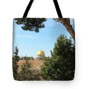 Jerusalem Trees Tote Bag