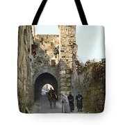 Jerusalem: Via Dolorosa Tote Bag