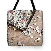 Jigsaw Puzzle Tote Bag