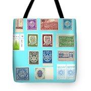 Jnf Stamps  Tote Bag