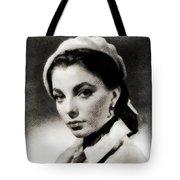 Joan Collins, Actress Tote Bag