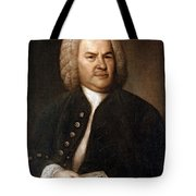Johann Sebastian Bach, German Baroque Tote Bag