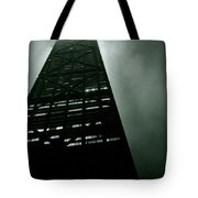 John Hancock Building - Chicago Illinois Tote Bag by Michelle Calkins