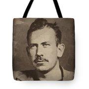 John Steinbeck Tote Bag