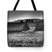 Johnson Road Barns Tote Bag