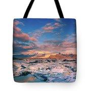 Jokulsarlon Glacier Lake - Iceland Tote Bag