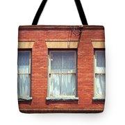 Jonesborough Tennessee Three Windows Tote Bag