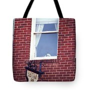 Jonesborough Tennessee - Window Over The Shop Tote Bag