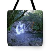 Josephine Falls And Tropical Pool Tote Bag