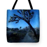 Joshua Trees At Night Tote Bag
