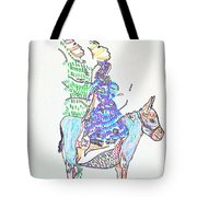 Journey To Bethlehem - Joseph And Mary Tote Bag
