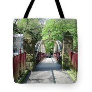 Jubilee Bridge - Matlock Bath Tote Bag