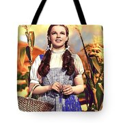 Judy Garland As Dorothy In The Wizard Of Oz Eric Carpenter Photo 1938-2014 Tote Bag