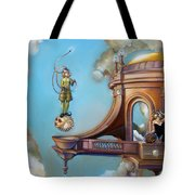 Jugglernautica Tote Bag by Patrick Anthony Pierson