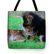 Julie Martinez Mittelwest Kennels Wonder Lake Tote Bag