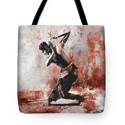 Kathak Dancer  Tote Bag