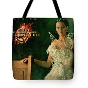 Katniss Hunger Games Catching Fire Tote Bag