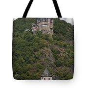 Katz Castle, Loreleystadt Tote Bag