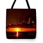 Keaton Beach Sunset Tote Bag